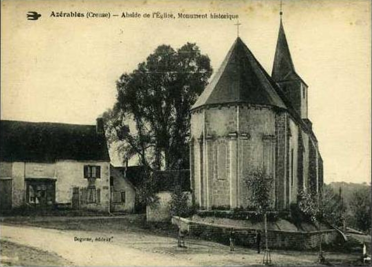 Abside de l'église
